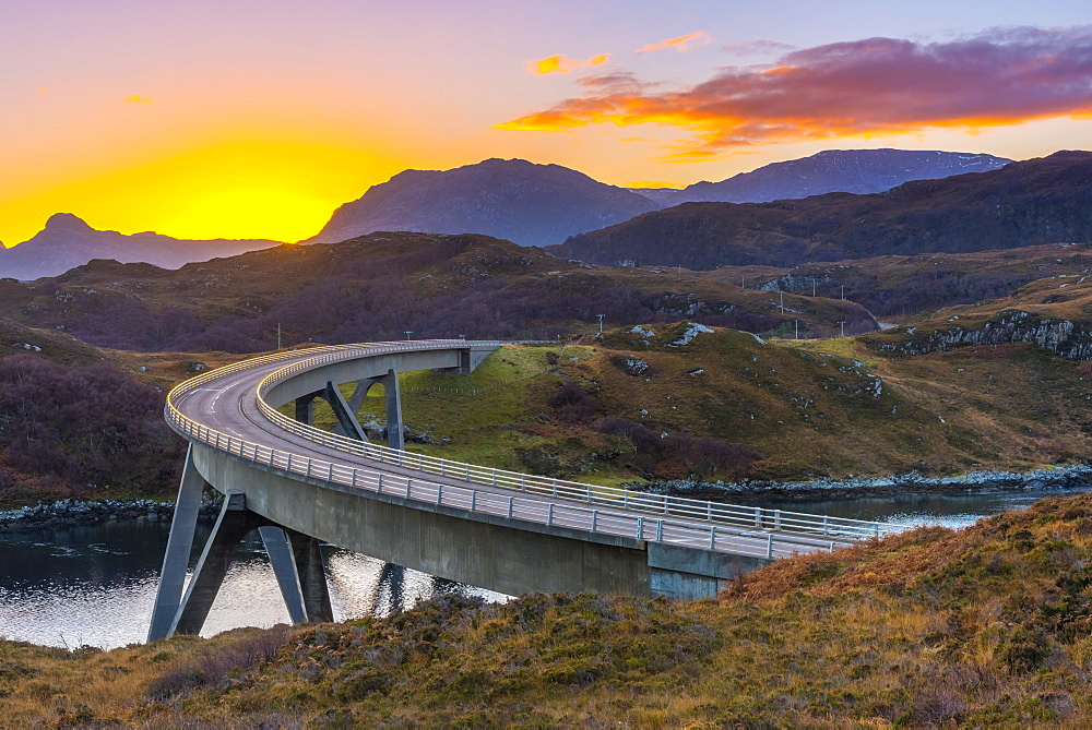 Stock photo of Kylesku Bridge, Scotland
