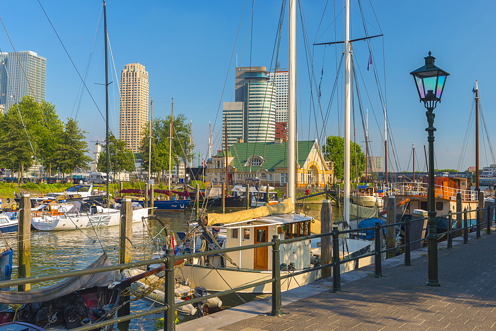 Harbour, Veerhaven, Rotterdam, South Holland, The Netherlands, Europe - 828-1085
