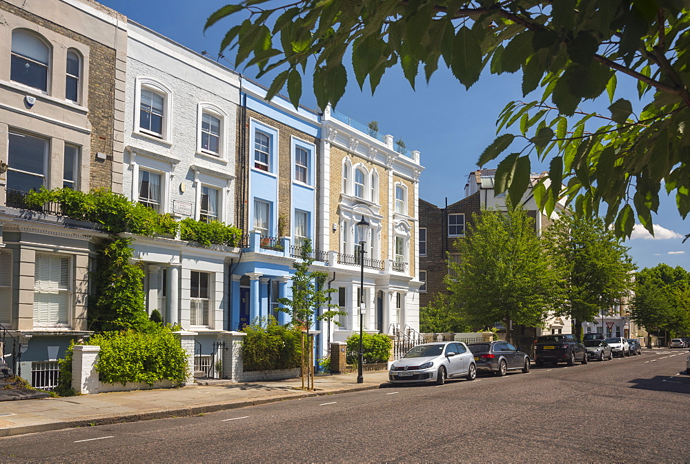 St. Lawrence Terrace, Ladbroke Grove, Kensington and Chelsea, London, England, United Kingdom, Europe - 828-1112