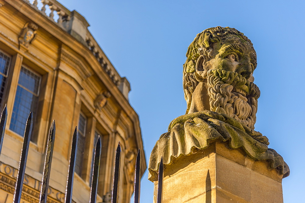Sheldonian Theatre, University of Oxford, Oxford, Oxfordshire, England, United Kingdom, Europe - 828-1149