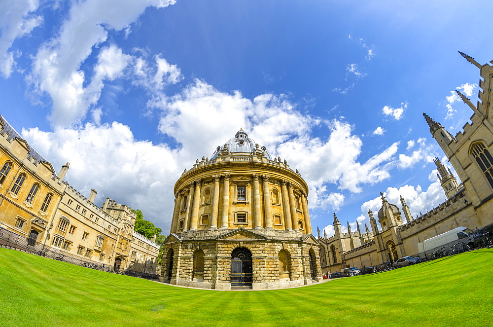 Radcliffe Camera, University of Oxford, Oxford, Oxfordshire, England, United Kingdom, Europe - 828-1153