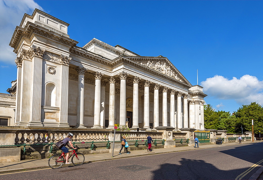 Trumpington Street, Fitzwilliam Museum, Cambridge, Cambridgeshire, England, United Kingdom, Europe - 828-1162