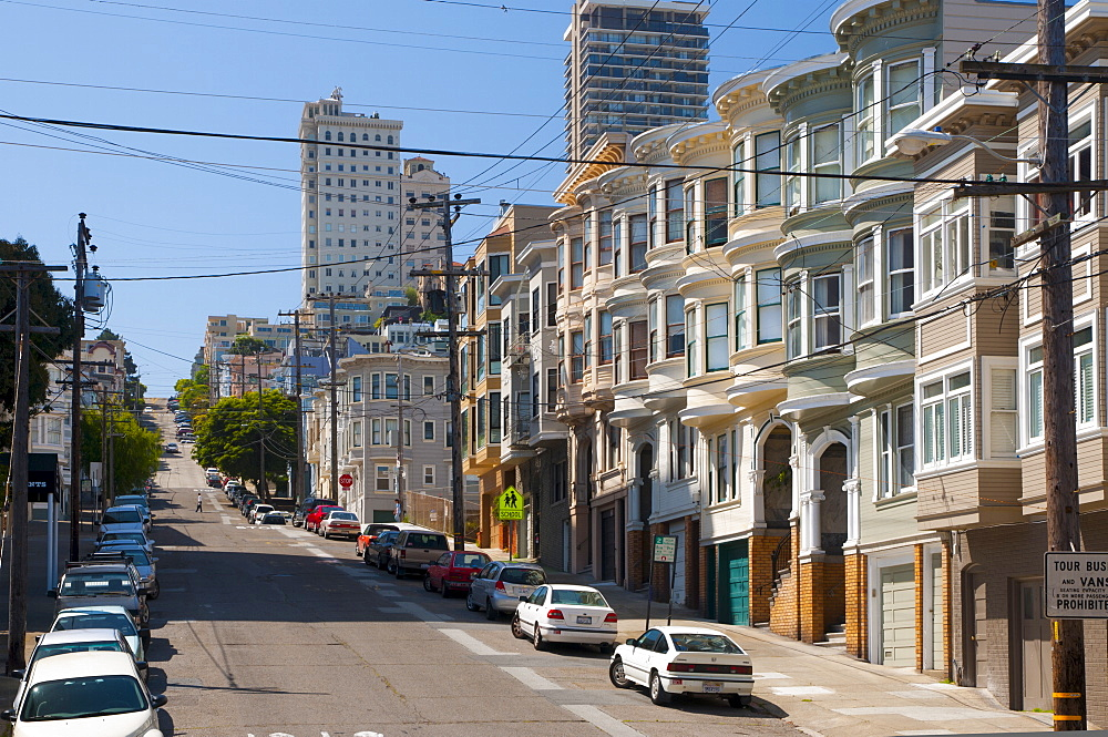 Taylor Street, San Francisco, California, United States of America, North America