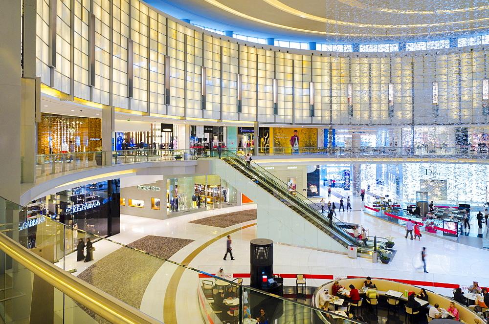 Fashion Avenue, Dubai Mall, Dubai, United Arab Emirates, Middle East