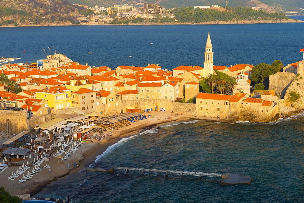 Old Town (Stari Grad), Budva, Montenegro, Europe