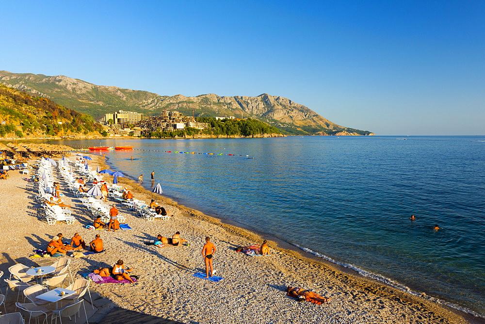 Main Beach, Budva, Montenegro, Europe
