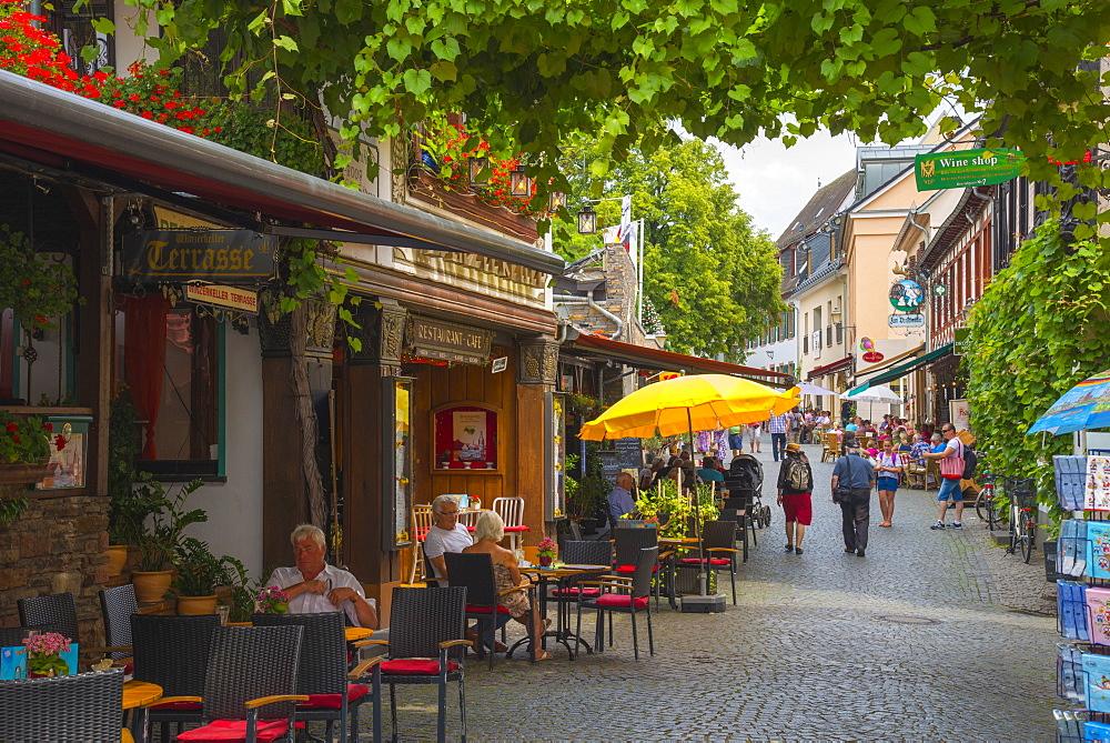 Rudesheim, Hesse, Germany, Europe