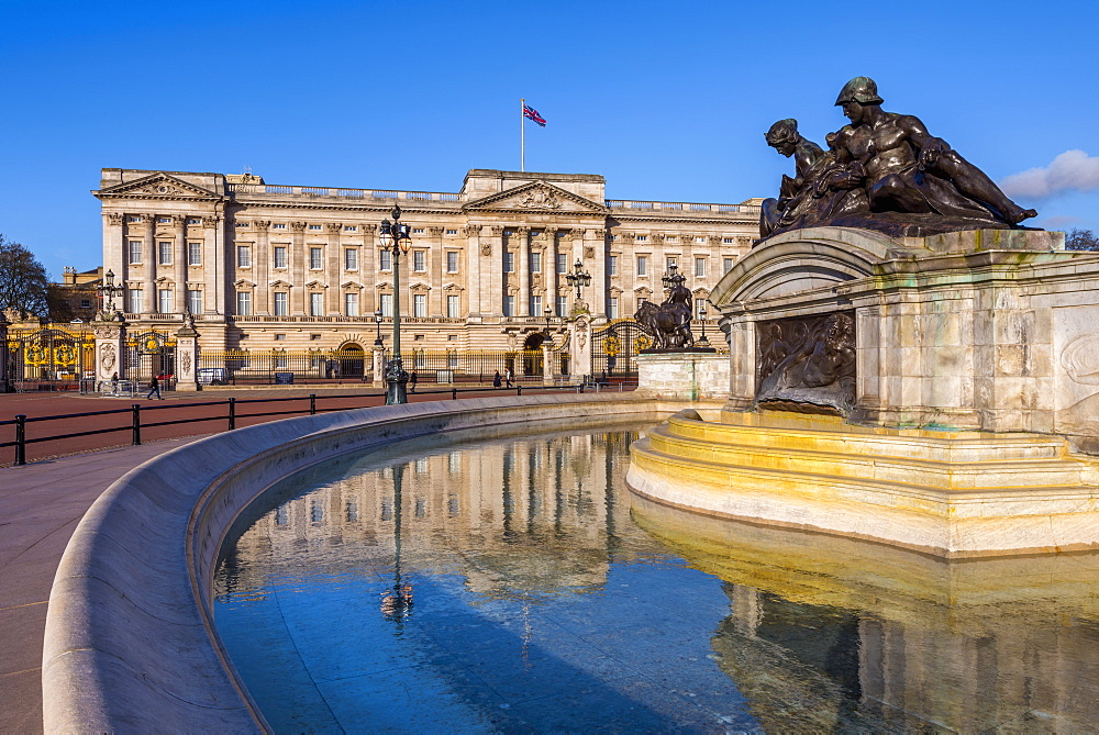 UK, England, London, Buckingham Palace