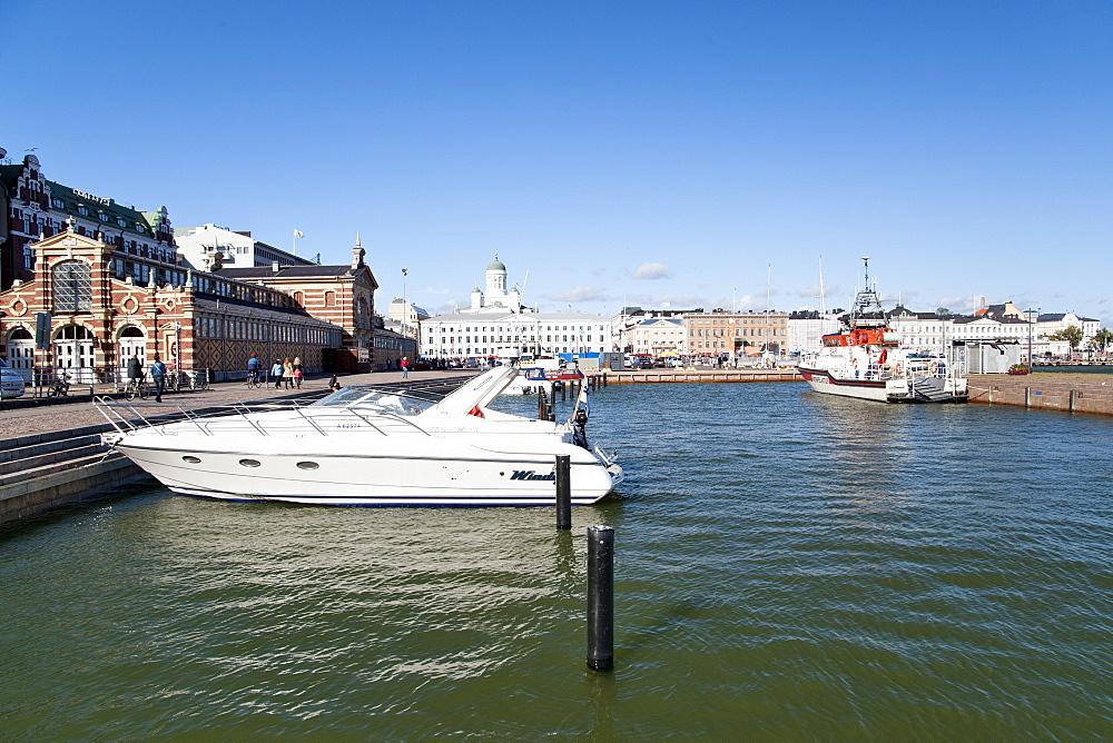 Etelasatama (South Harbour) in Helsinki, Finland, Scandinavia, Europe