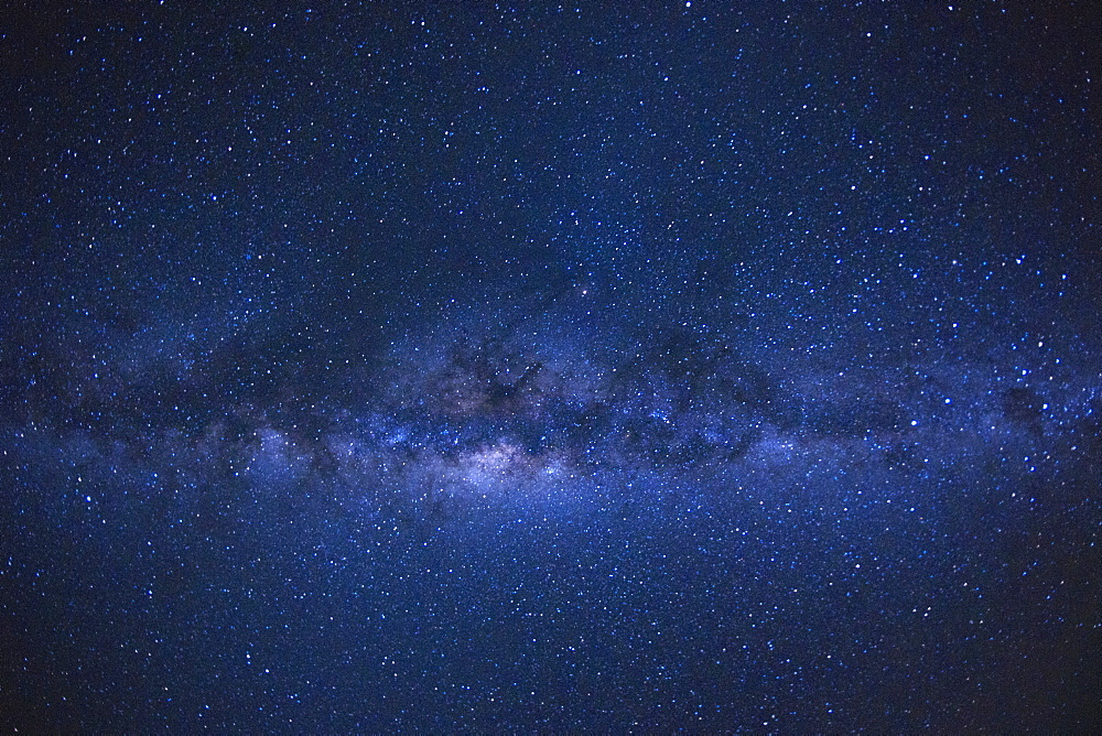The Milky Way as seen from the French island of Reunion in the Indian Ocean, Africa
