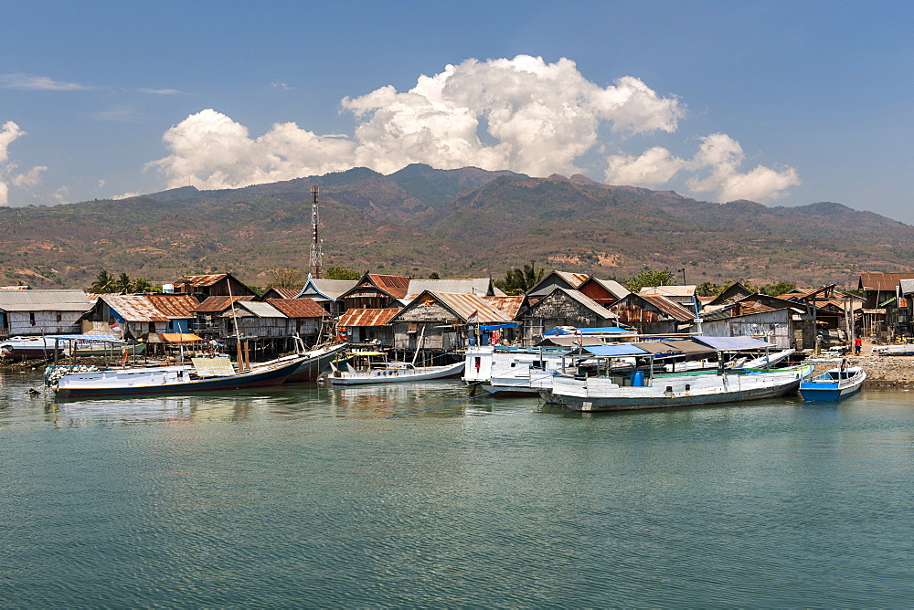 Wuring fishing village near Maumere on Flores island, Indonesia.
