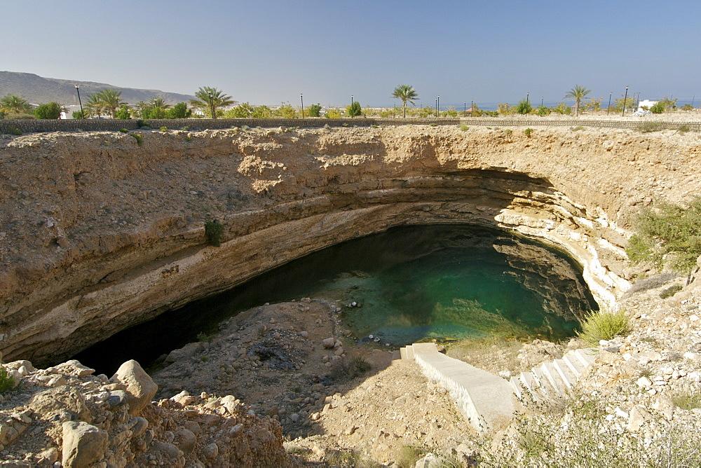 The Bimah sinkhole in Oman.