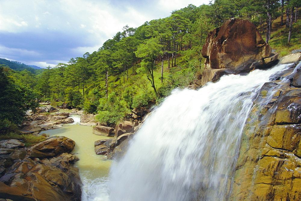 Ankroet Falls, Dalat, Vietnam, Asia
