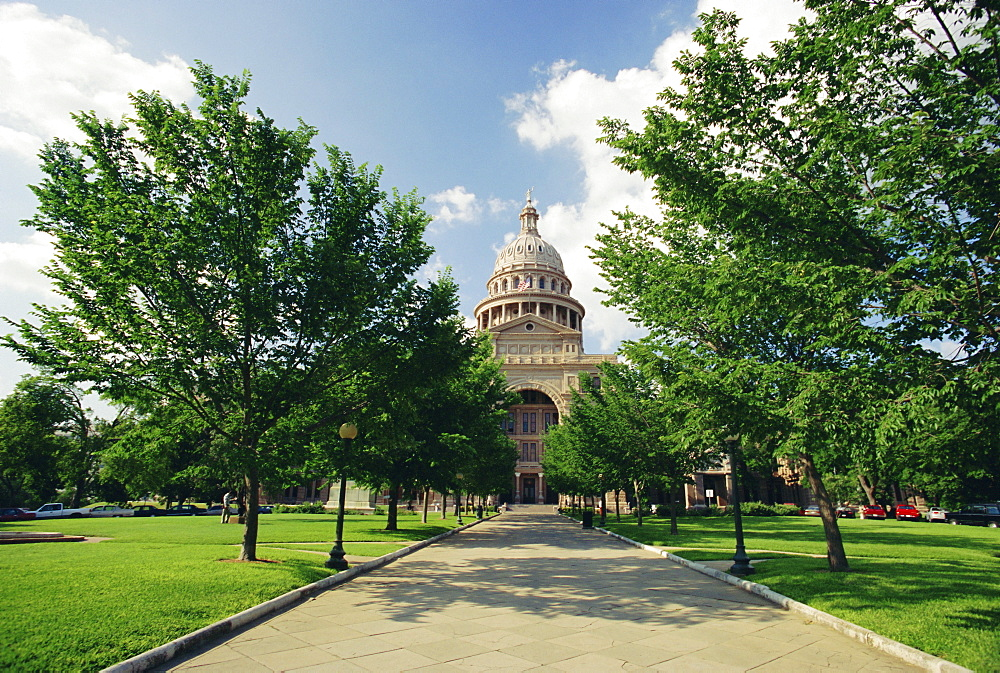 The Great State Capitol, taller than the Capitol in Washington, Austin, Texas, USA, North America