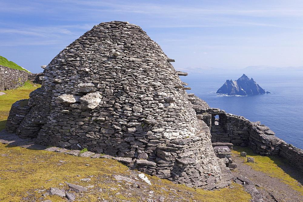 Celtic Monastery, Skellig Michael, UNESCO World Heritage Site, County Kerry, Munster, Republic of Ireland, Europe