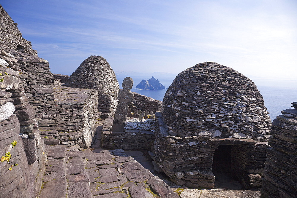 Celtic Monastery, Skellig Michael, UNESCO World Heritage Site, County Kerry, Republic of Ireland, Europe