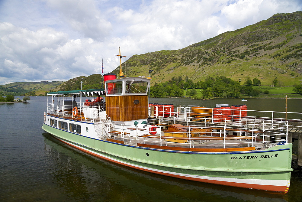 Western Belle, Ullswater, Lake District National Park, Cumbria, England, United Kingdom, Europe - 831-1459