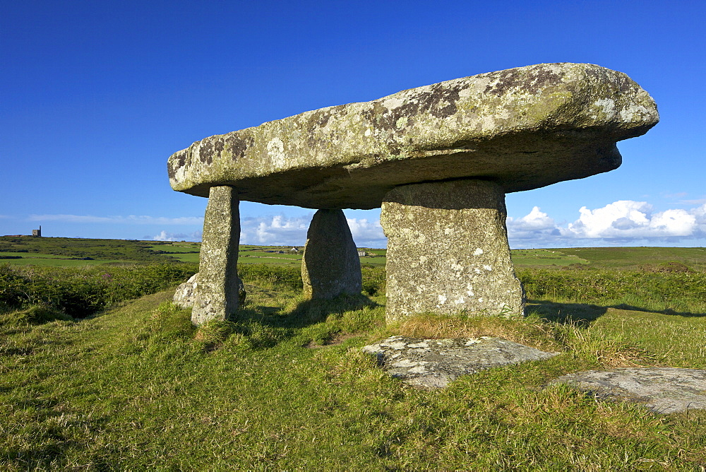 Lanyon Quoit, near Madron, Lands End Peninsula, Cornwall, England, United Kingdom, Europe