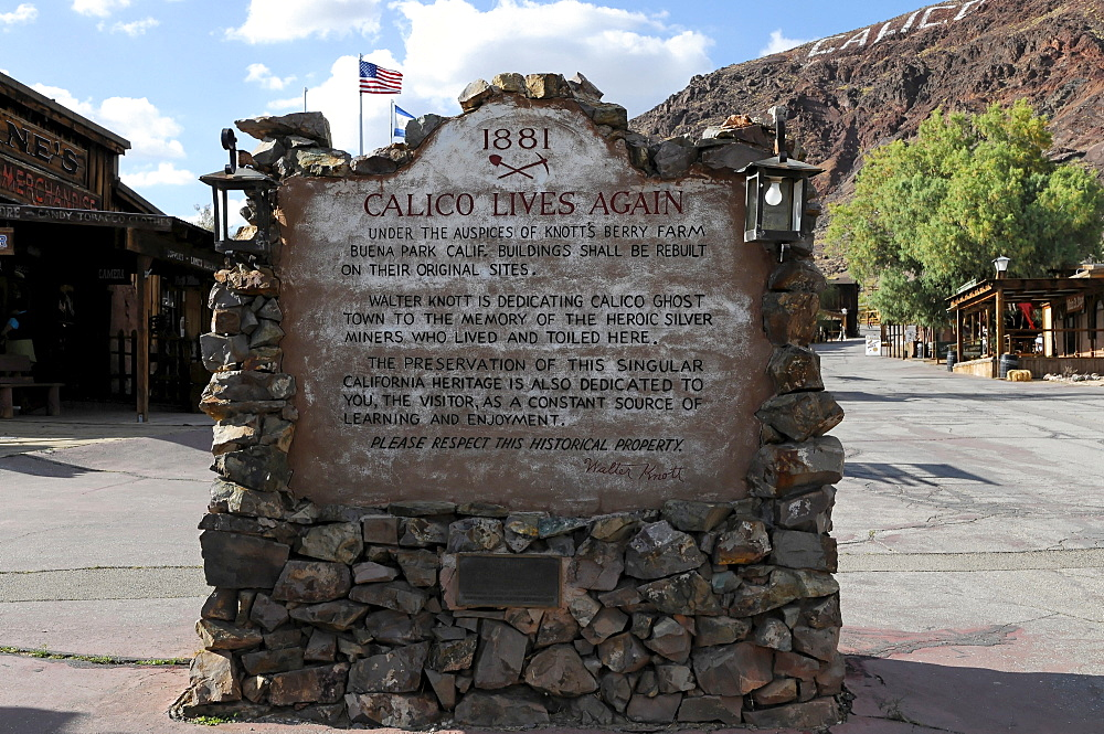Ghost town Calico, Yermo, California, USA, North America
