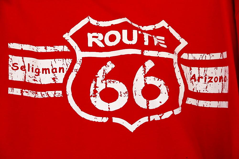 Souvenir, Route 66, Seligman, Arizona, USA, North America