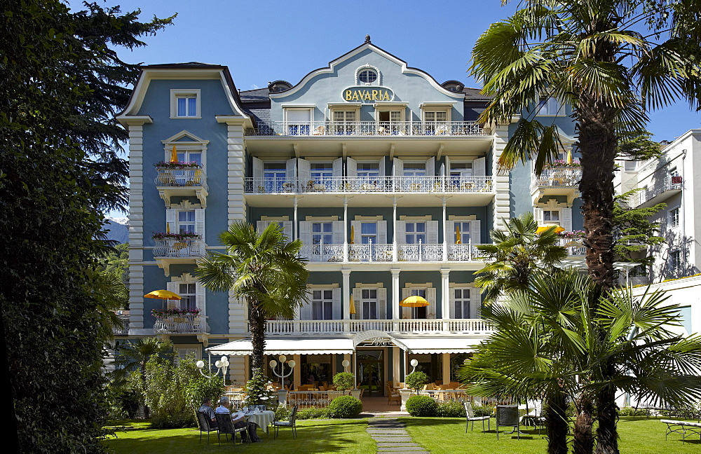Hotel Bavaria, Merano or Meran, South Tyrol, Italy, Europe