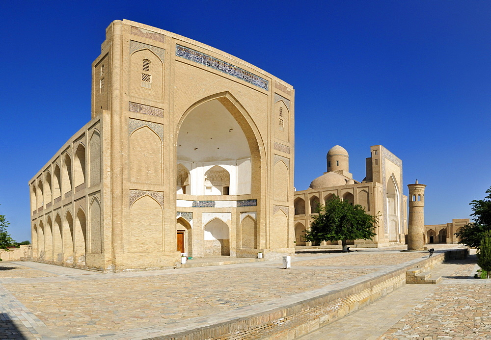 Historic Chor Bakr memorial complex, Sumitan near Bukhara, Buchara, Silk Road, Uzbekistan, Central Asia