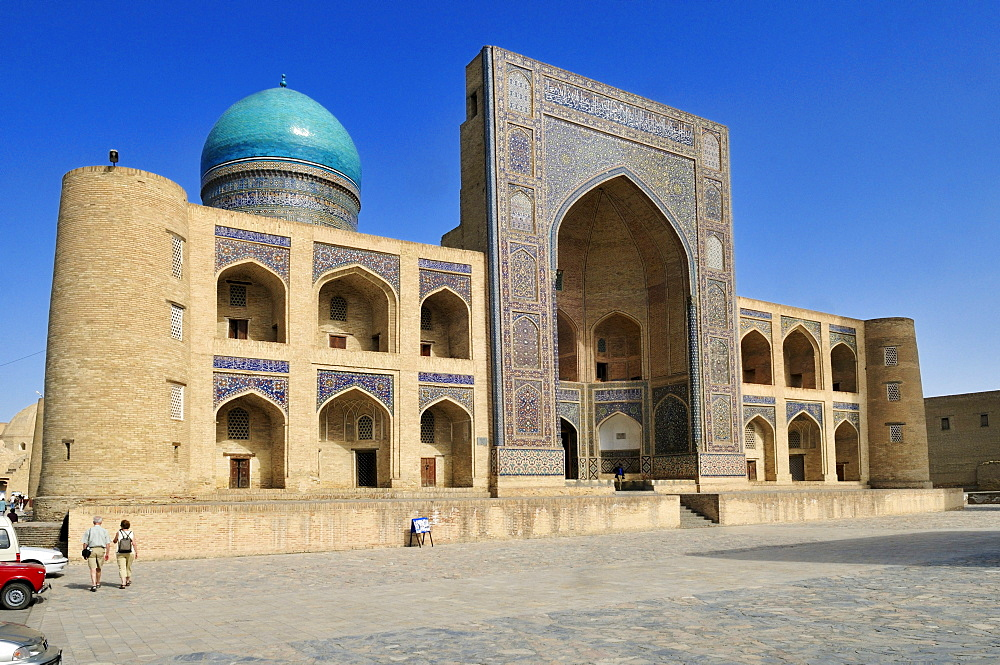 Mir-i, Miri Arab madrassah, Bukhara, Buchara, Silk Road, Unesco World Heritage Site, Uzbekistan, Central Asia