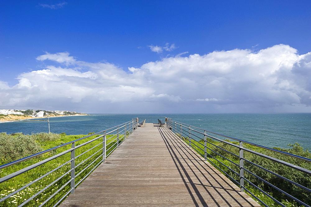 Observation terrace, Albufeira, Algarve, Portugal, Europe