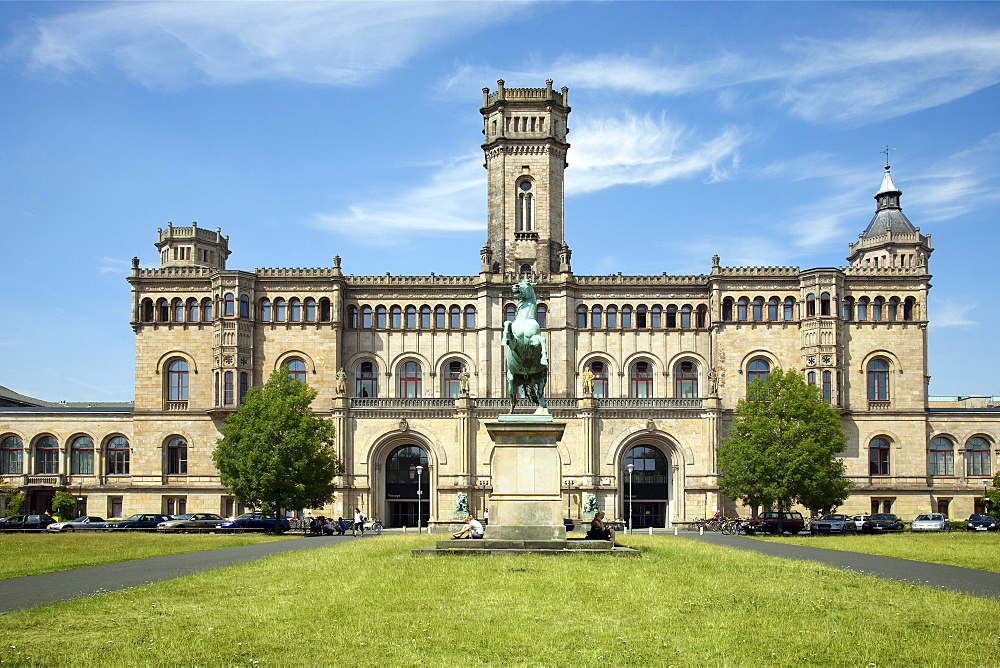 Guelph Palace, now Leibniz University, Hannover, Lower Saxony, Germany, Europe