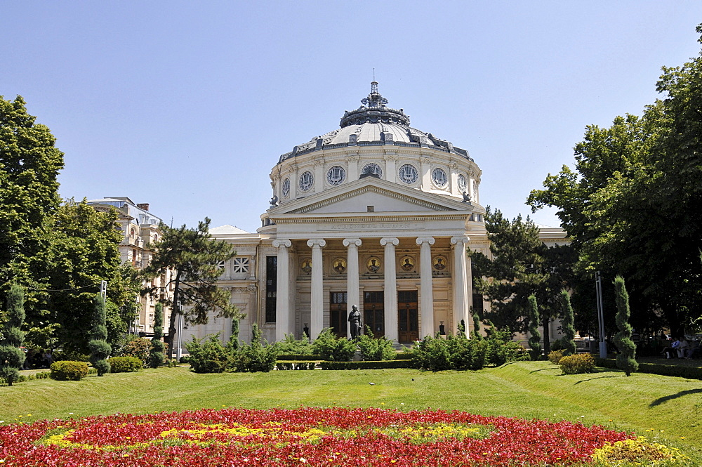 Athenaeum, Bucharest, Romania, Europe