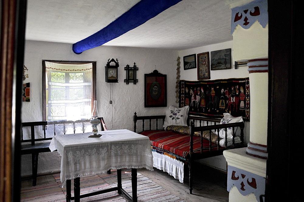 Interior, Village Museum Muzeul National al Satului Dimitrie Gusti, Bucharest, Romania, Europe
