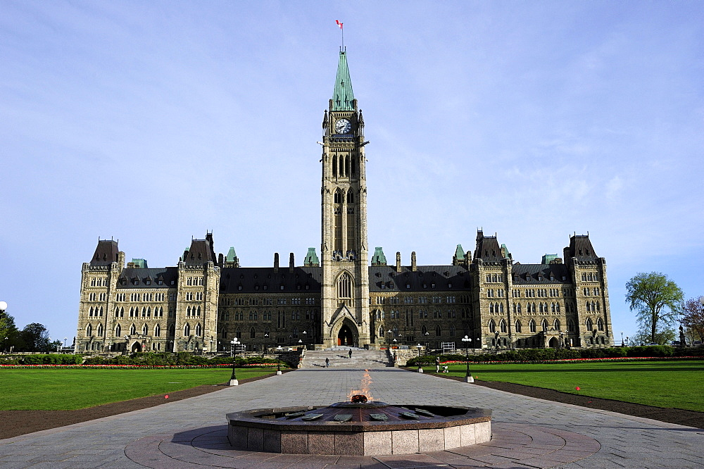 The government buildings, Ottawa, Ontario, Canada