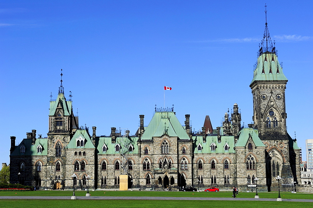 West Wing of the Government Building, Ottawa, Ontario, Canada