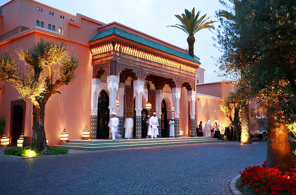 La Mamounia luxury hotel, Marrakech, Morocco, Africa
