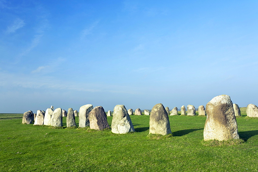 Ale's Stones, Scania, Sweden, Scandinavia, Europe