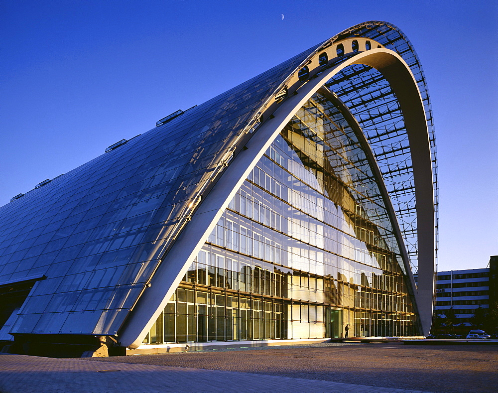 "Commercial building ""Berliner Bogen"", Hamburg, Germany, Europe"