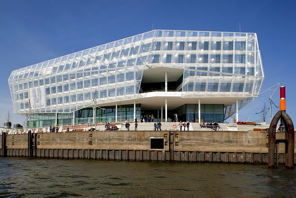 """Commercial building, office building """"Unilever Haus"""", Hamburg, Germany, Europe"""