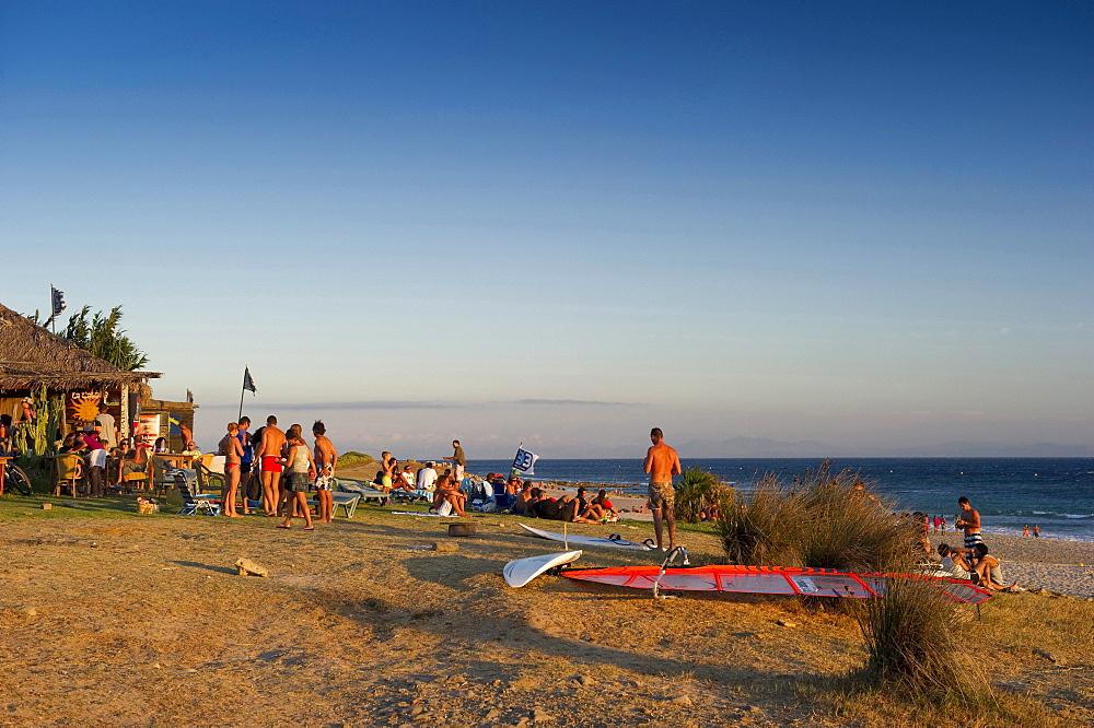 Beach, Tarifa, Costa de la Luz, Andalucia, Spain, Europe