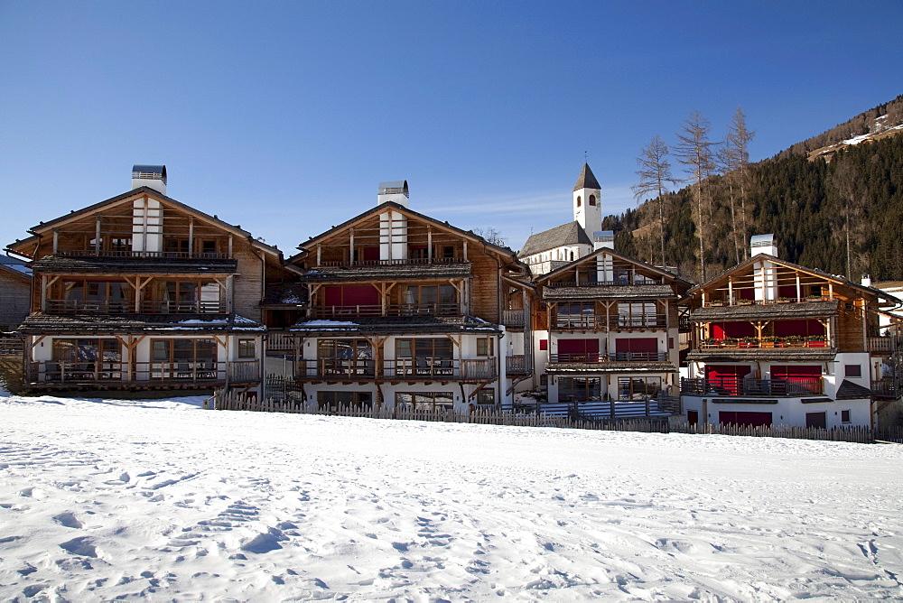Almdorf Post Alpina Hotel, 4 Star Chalet, Vierschach, Sextental valley, province of Bolzano-Bozen, Italy, Europe