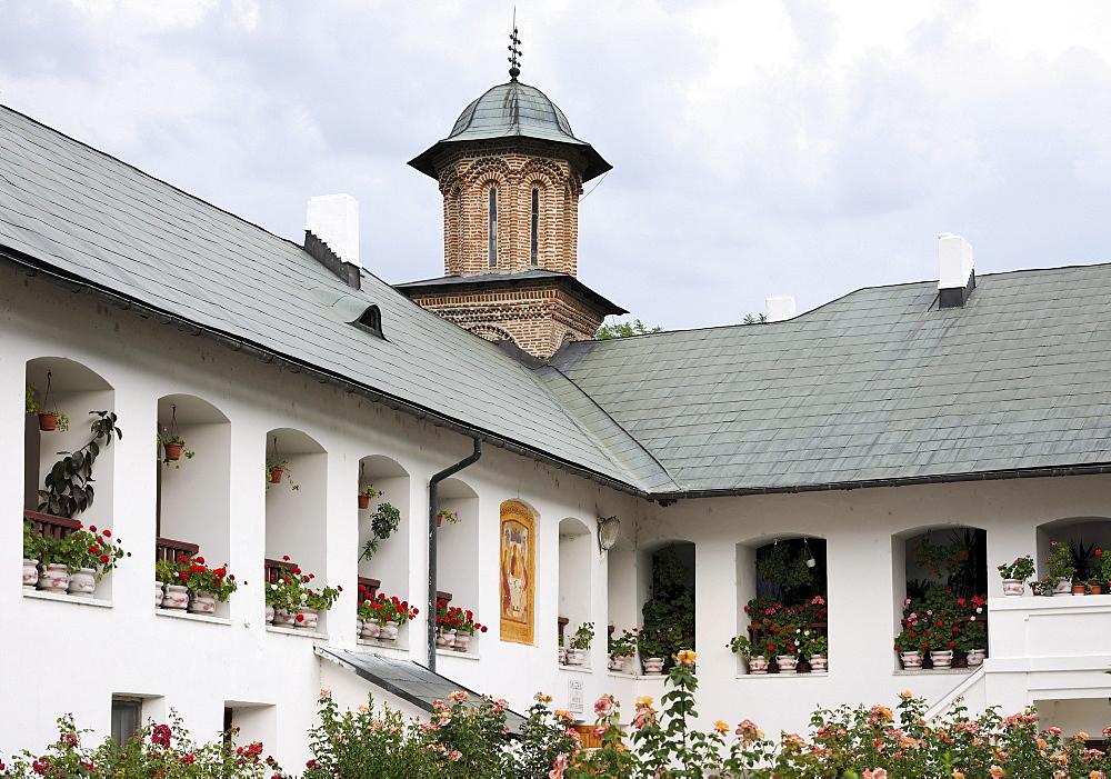 Cozia Monastery, Oltenia region, Lesser Wallachia, Romania, Europe