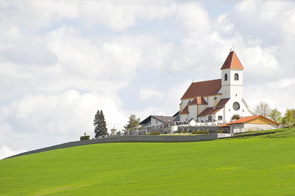 Parish Church of Wiesmath, Anna Church, Annaberg, Bucklige Welt, Lower Austria, Austria, Europe