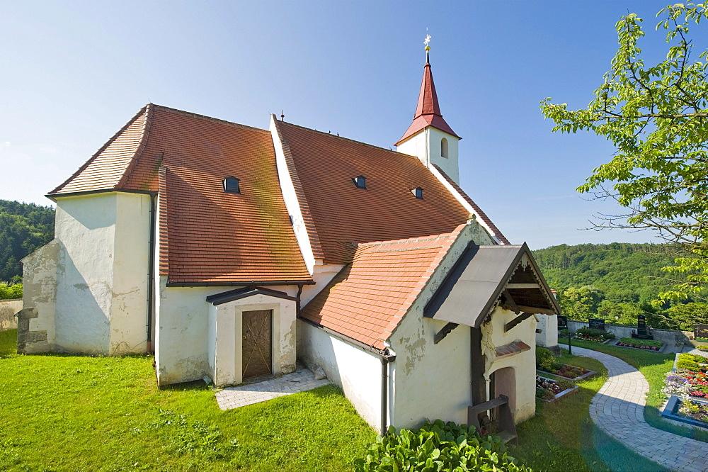 Church of St. Vitus, Ofenbach, Bucklige Welt, Lower Austria, Austria, Europe