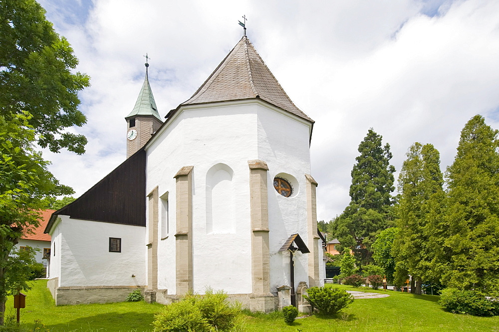 Maria Namen church, Moenichkirchen, Bucklige Welt region, Lower Austria, Austria, Europe