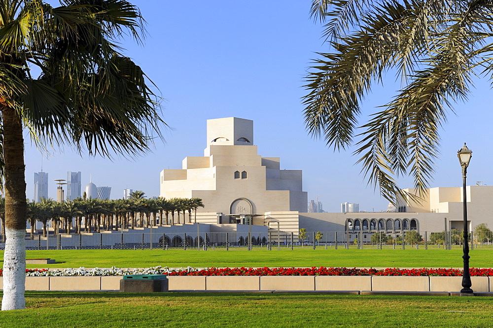 Museum of Islamic Art or MIA, Doha, Qatar, Arabian Peninsula, Persian Gulf, Middle East, Asia
