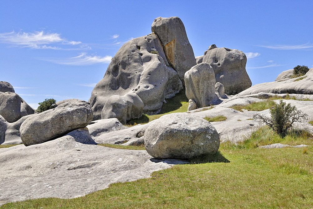 Limestone formation at the Castle Hill Limestone Rocks, Kura Tawhiti Conservation Area, Selwyn District, South Island, New Zealand