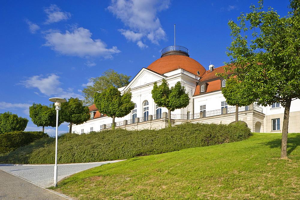 Schiller National Museum, Marbach am Neckar, Neckar valley, Baden-Wuerttemberg, Germany, Europe