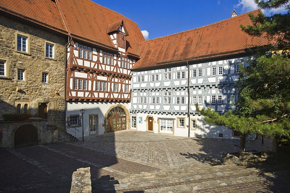 Old Hospital, Bad Wimpfen, Neckartal, Baden-Wuerttemberg, Germany, Europe
