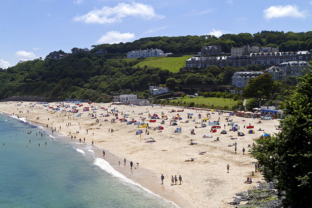 Porthminster Beach, St. Ives, Cornwall, England, Great Britain, Europe