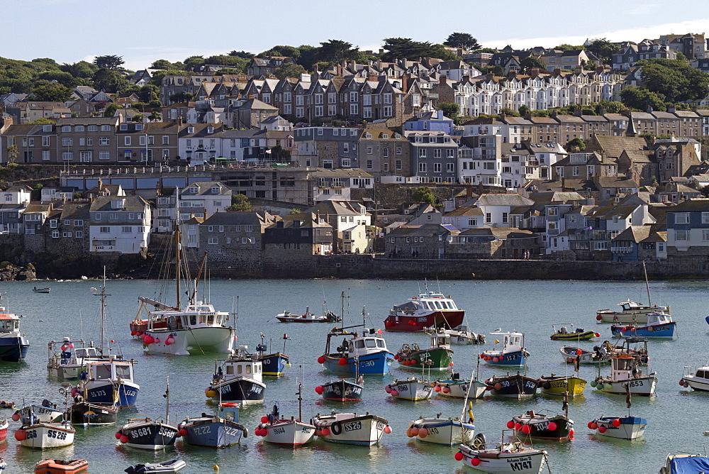 View towards St. Ives, Cornwall, England, United Kingdom, Europe