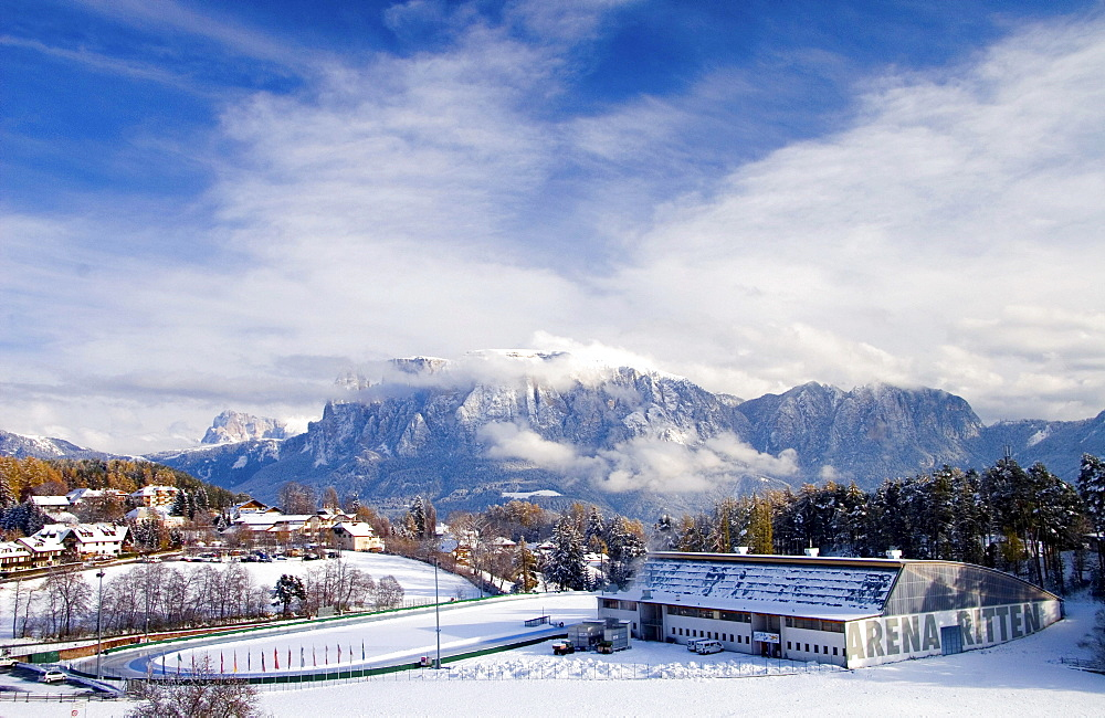Speed skating Arena Ritten, Ritten, South Tyrol, Italy, Europe